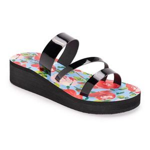 Betsey Johnson Low-Wedge Sandals